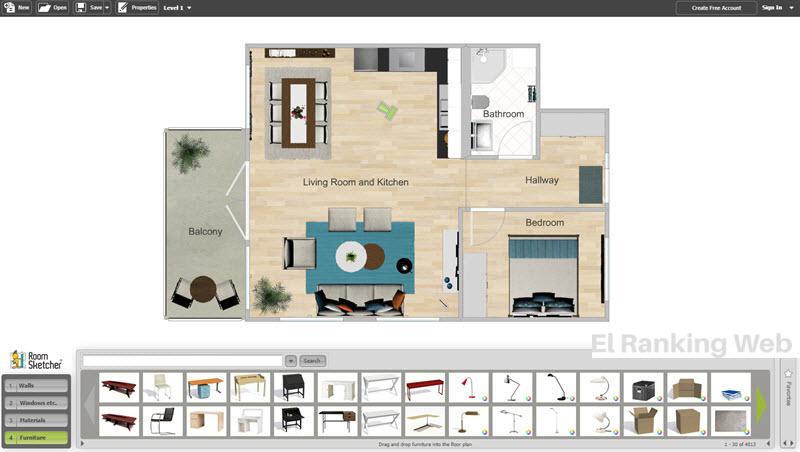 Aplicaciones para crear y dise ar planos de casas el for Mejores apps de diseno de interiores