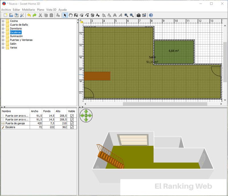 Aplicaciones para crear y dise ar planos de casas el for Programa para disenar planos en 3d